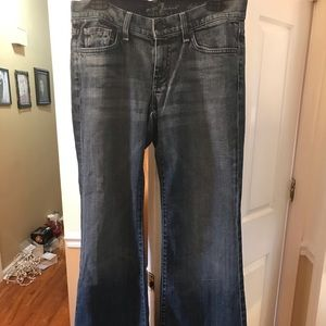 7 For all Mankind dojo wide legged jeans